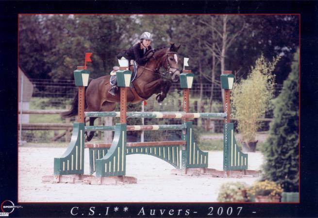 foto Melanie Deloof jumping